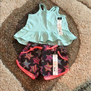 NWT Okie dokie • tank top and star shorts